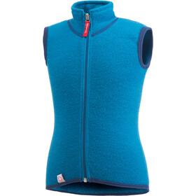 Woolpower Kids 400 Vest dolphin blue